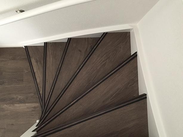 Specialist in het bekleden van trappen liever thuis